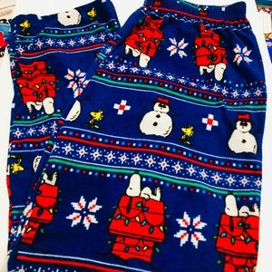 Snoopy and Friends Holiday Sleepwear